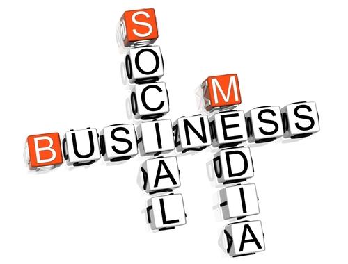 social media help business