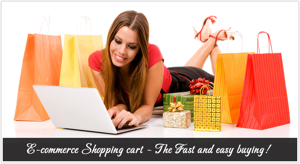 ecommerce consumer girl shopping
