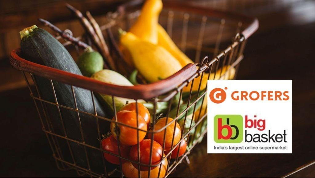 Bigbasket and Grofers India in talk for Hook-Up