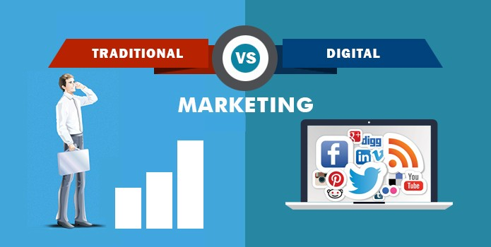 11 Benefits of Digital Marketing over Traditional Marketing - Technians