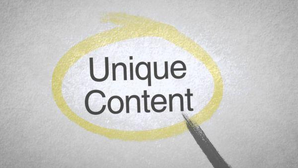 Content Uniqueness