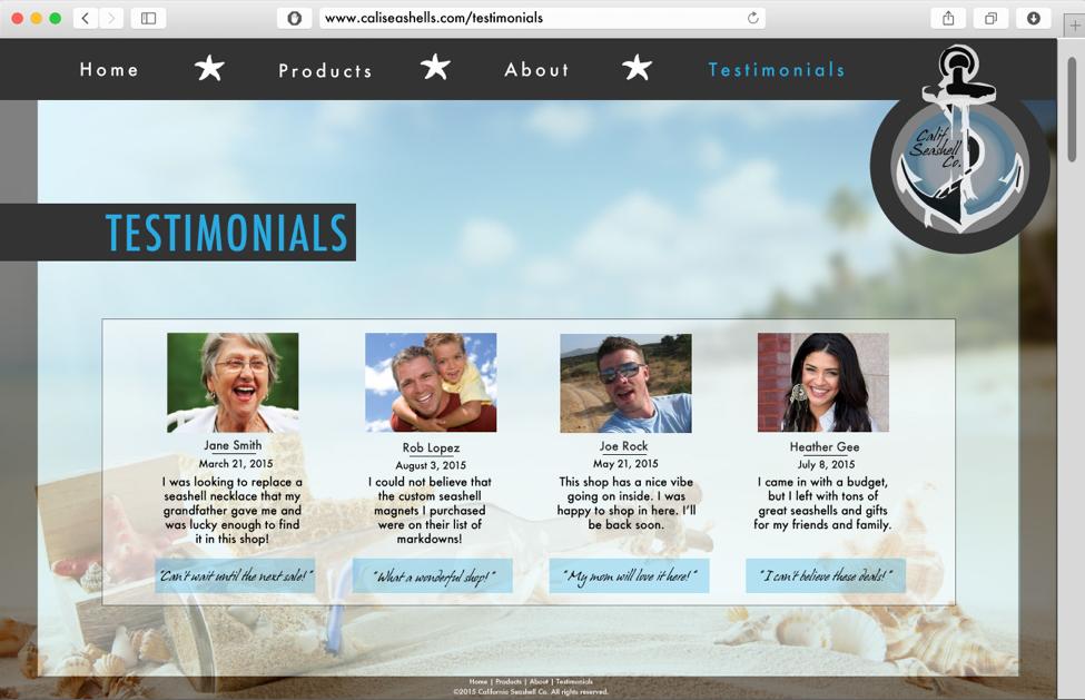Appealing Website Design