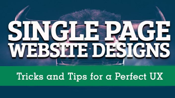 Single Page Website Design: Tricks and Tips for a Perfect UX