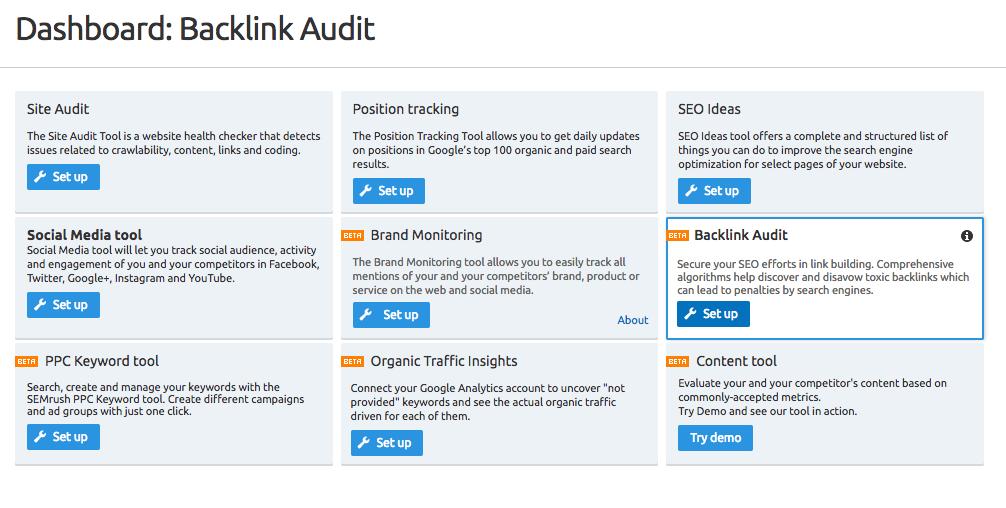 Have A Backlink Audit