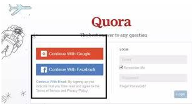 Account Creation on Quora Platform
