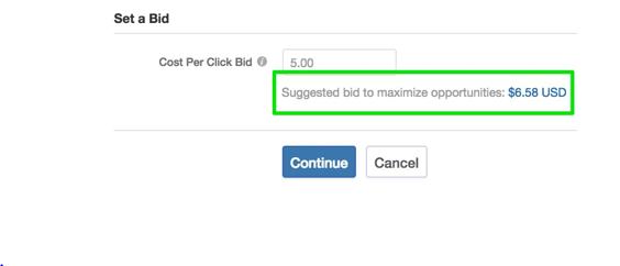 Placing Bid on Quora Platform