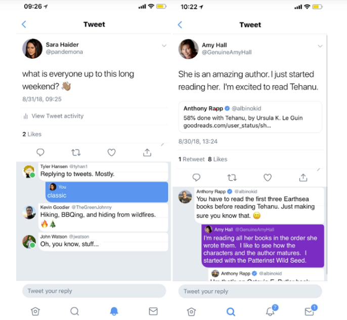 Conversation Threads On iOS Has Been Launched By Twitter