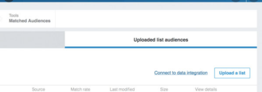 Matched Audience On LinkedIn