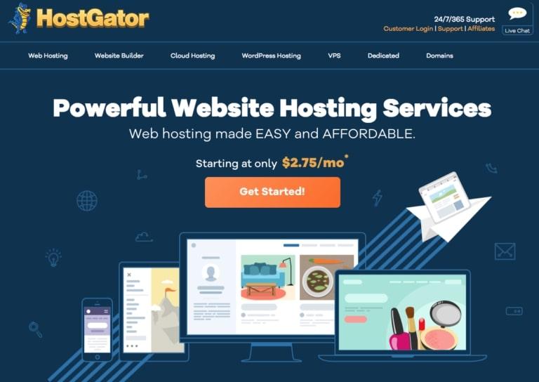 Hostgator's Website Builder