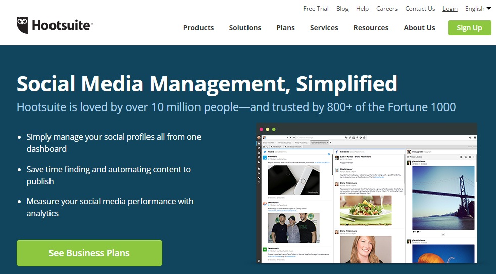 Hootsuite Social Media Tool