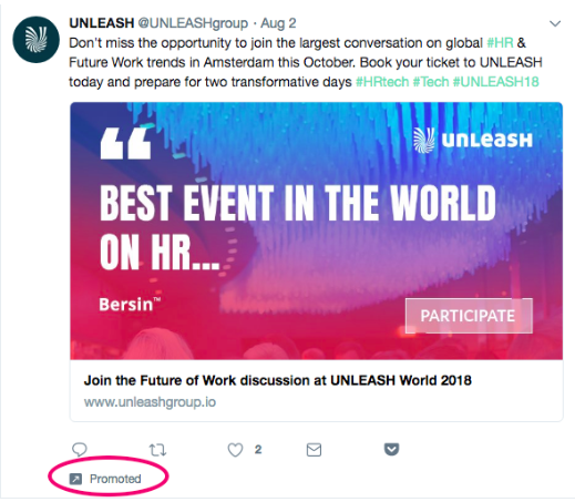 Promoted Tweets