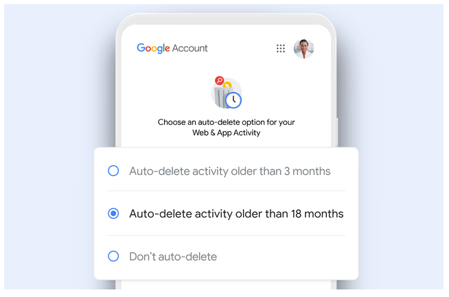 The new setting will just default to auto-delete as opposed to never delete: