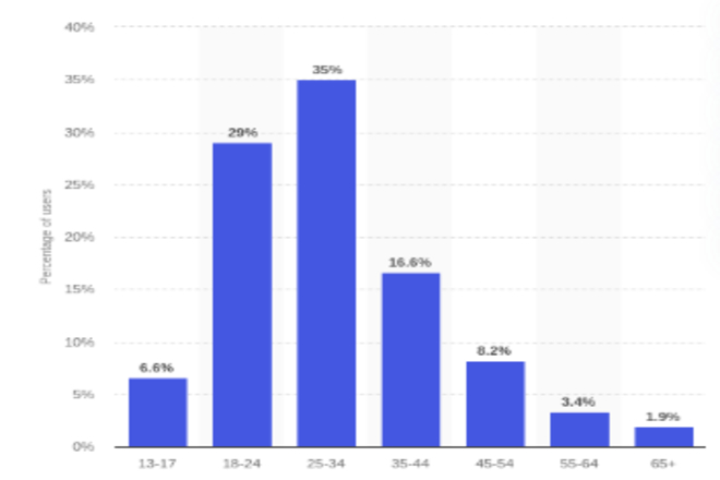 Instagram Global Age Group Stats