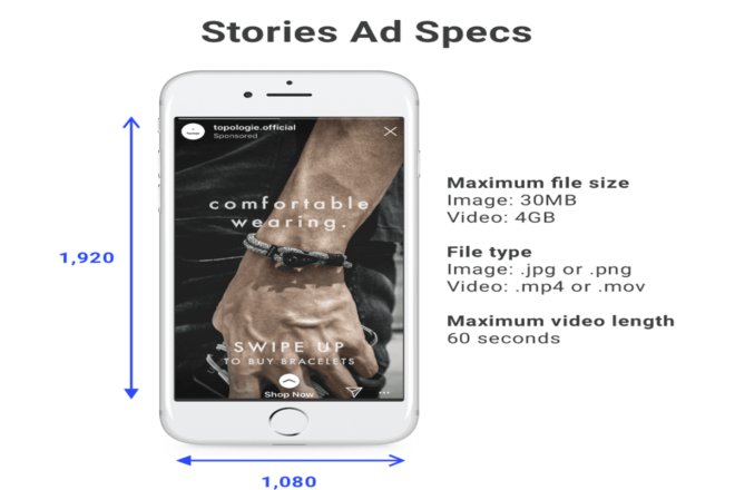 Instagram Stories Ads Specs
