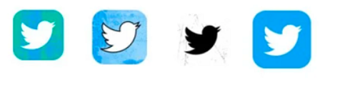 Twitter Icon Variations