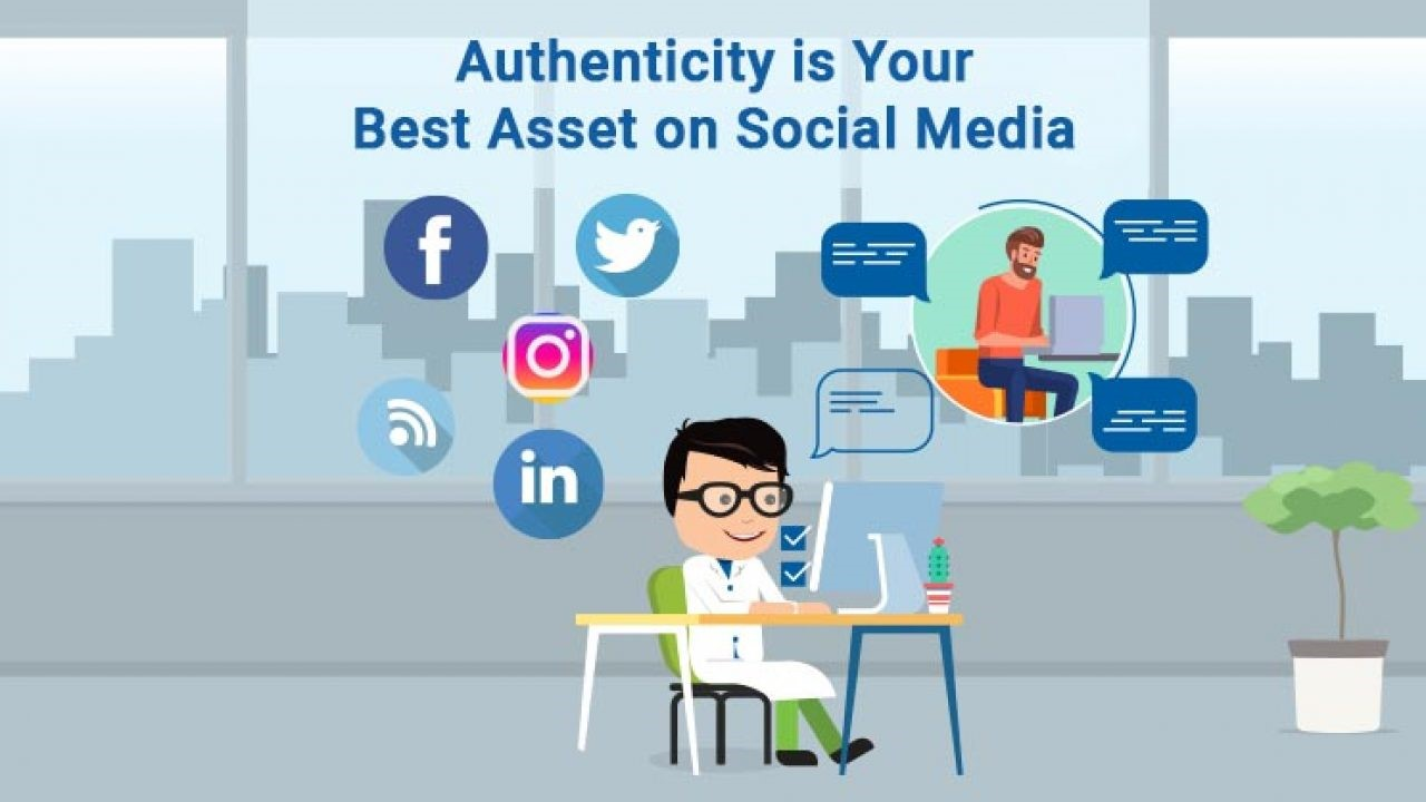 Authencticity Through Social Media Marketing