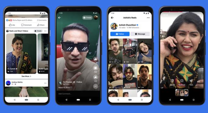 Instagram Reels to facebook