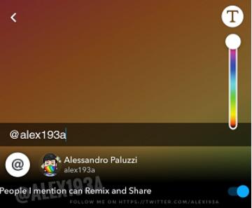 Snapchat remix snap