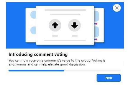 Facebook Comment Voting