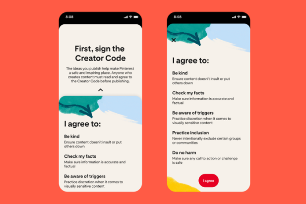 Pinterest Guidelines For Creators